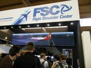 Schlange stehen vor dem Simulator