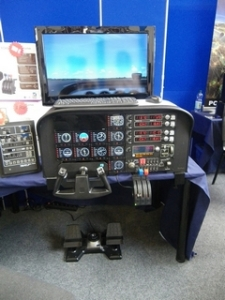 Saitek Cessna-Cockpit
