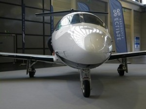 The Eclipse 550, the new production twin-engine jet from Eclipse Aerospace