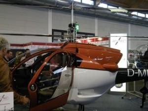 Coax 2D : Koaxialer Ultraleichthubschrauber aus Thüringen