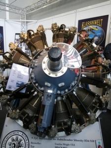 9 zyl. Sternmotor für Hubschrauber Sikorsky H34 / S58