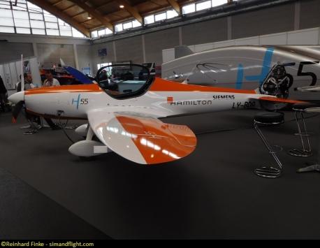 AERO 2017 Hamilton H55 Siemens