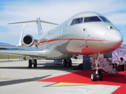 EBACE 2017 Vistajet : Bombardier Global 6000