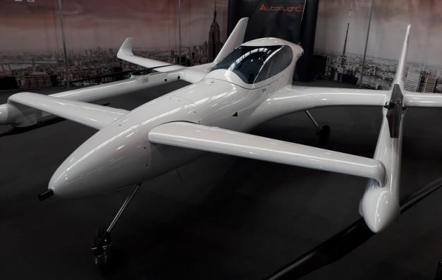 eVTOL AutoFlightX V600 : avion électrique à décollage et atterrissage vertical